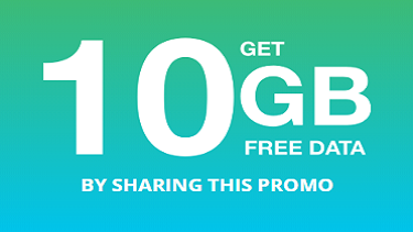 Get 10GB Free Data Bundle Promo