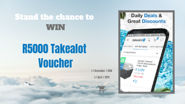 Win R5000 Takealot Voucher