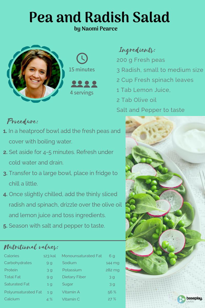 Pea and Radish Salad
