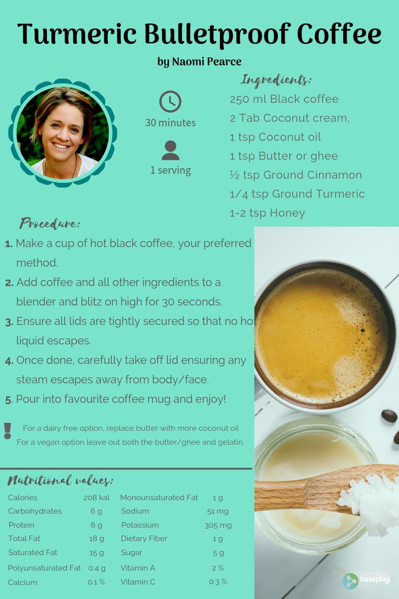 Turmeric Bulletproof Coffee