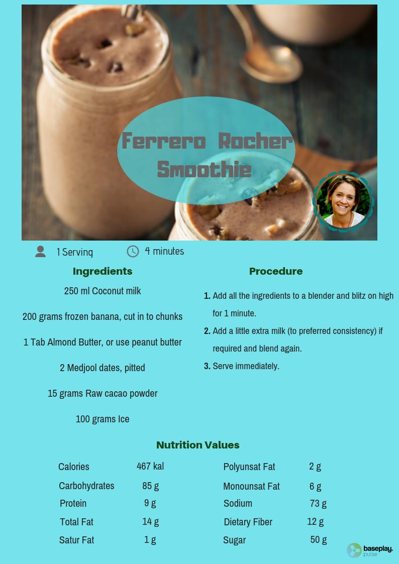 Ferrero  Rocher  Smoothie