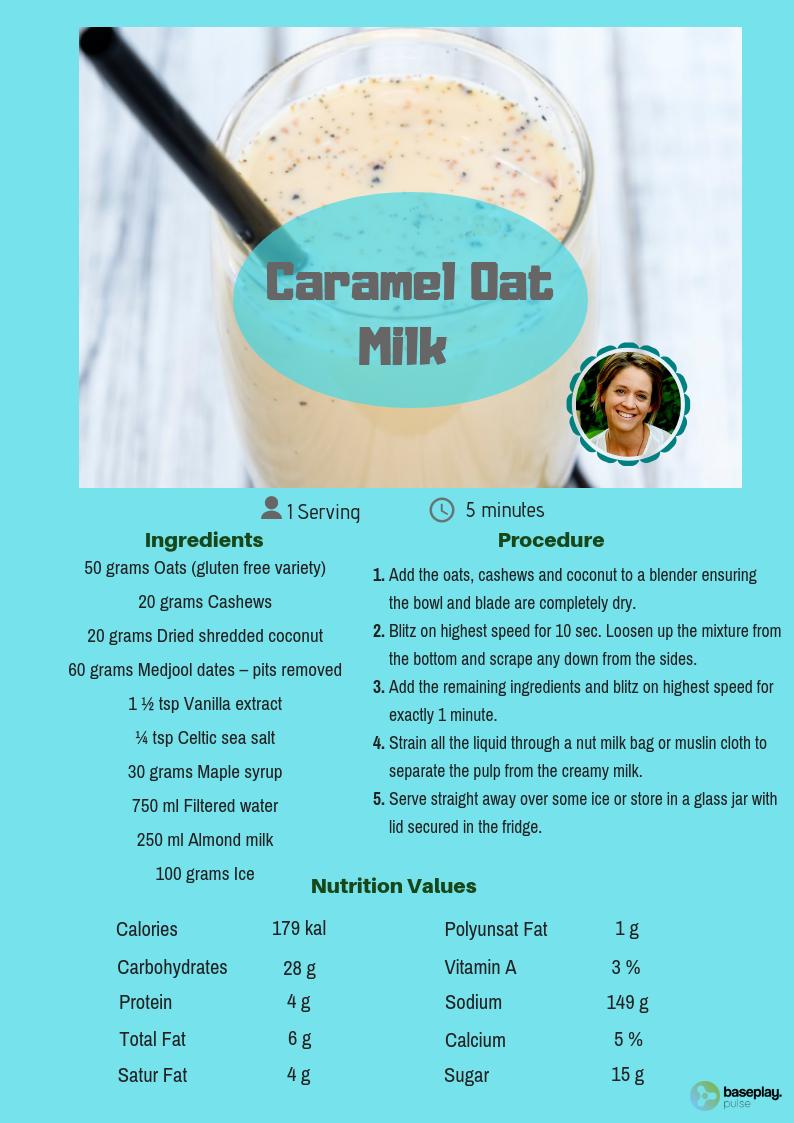 Salted  Caramel  Oat  Milk